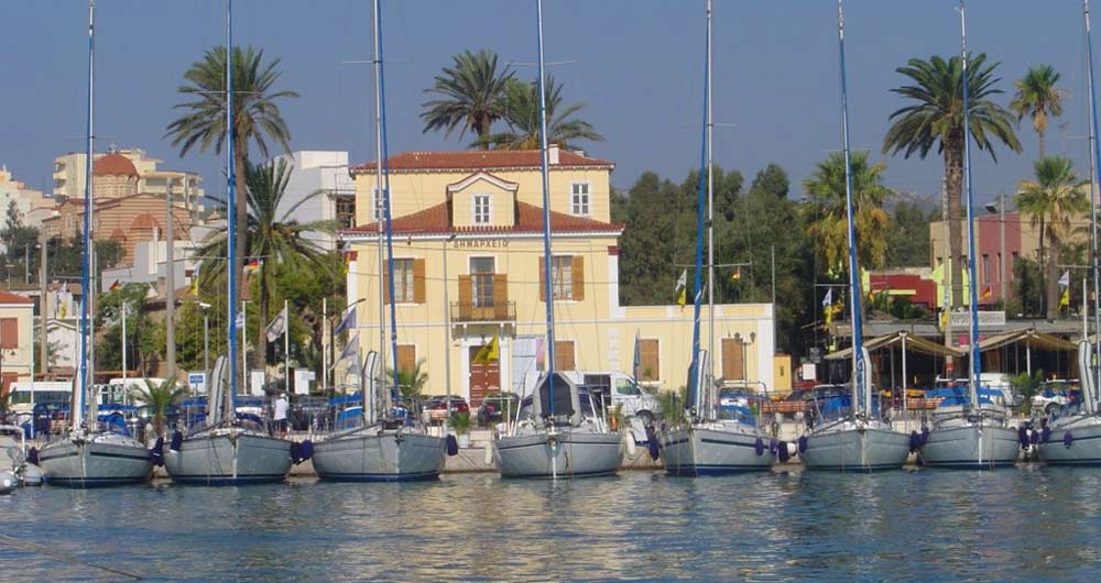 Muelle de Lavrio