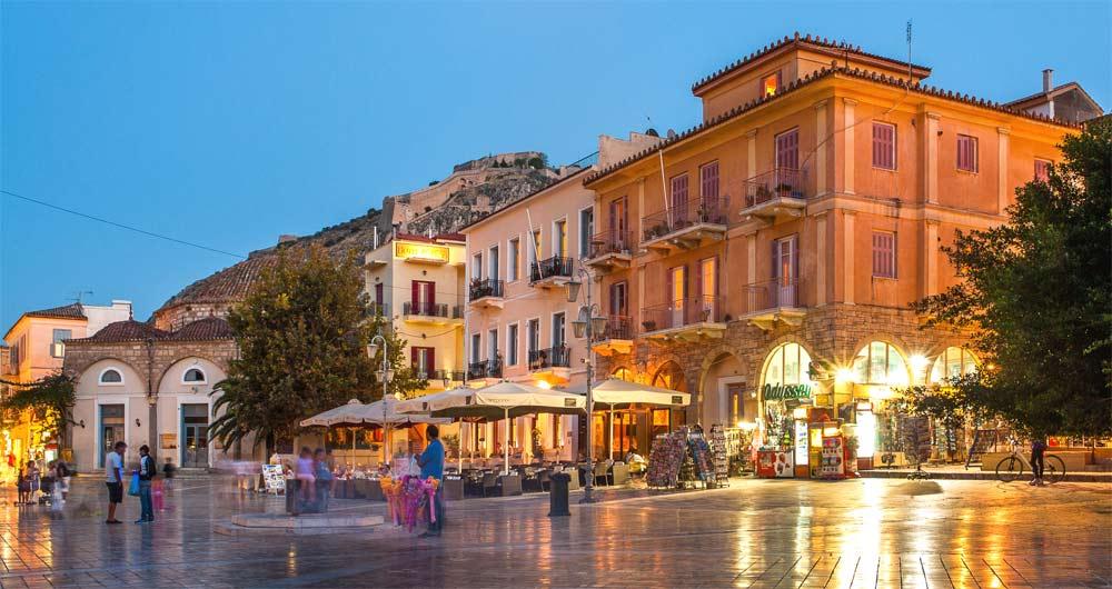 Napflio, antigua capital de Grecia